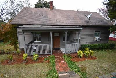 Porterdale Single Family Home For Sale: 12 S Broad St