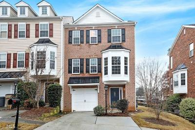 Suwanee Condo/Townhouse For Sale: 3984 Church Vw
