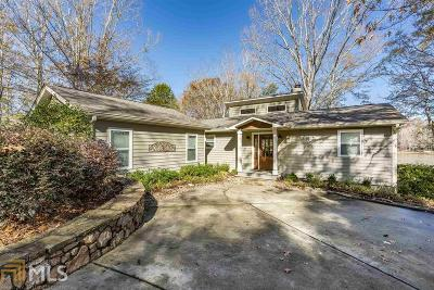 Greensboro, Eatonton Single Family Home Under Contract: 100 W Riverbend Way