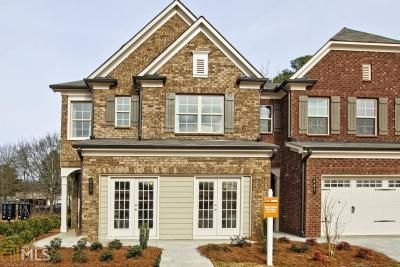 Lawrenceville Condo/Townhouse For Sale: 182 Braemore Mill Dr