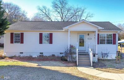 Banks County Single Family Home Under Contract: 108 Lillie