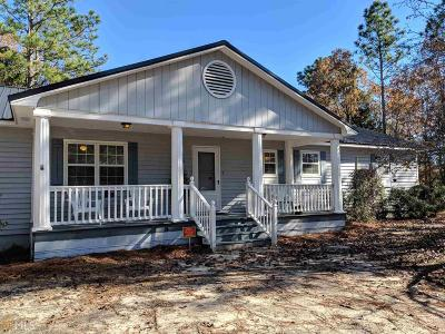 Statesboro Single Family Home For Sale: 5260 Burkhalter Rd