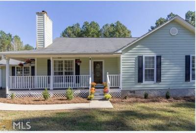 Butts County Single Family Home Under Contract: 974 Fincherville