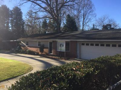 Chamblee Single Family Home Under Contract: 4020 N Peachtree Rd