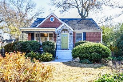 Decatur Single Family Home Under Contract: 329 Kirk Rd