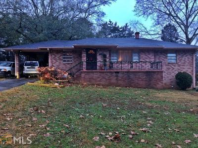 Ellenwood Single Family Home Under Contract: 5329 Flakes Mill Rd