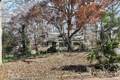 Chamblee Single Family Home Under Contract: 3443 Keswick Ct