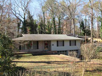 Chamblee Single Family Home Under Contract: 3636 Fortingale Rd