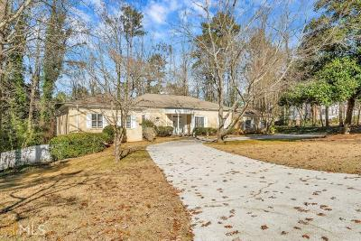 Sandy Springs Single Family Home Under Contract: 125 River Park Dr