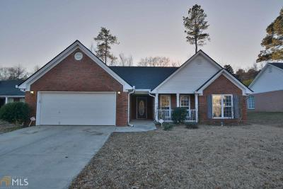 Dacula Single Family Home For Sale: 2595 Freemans Walk Dr