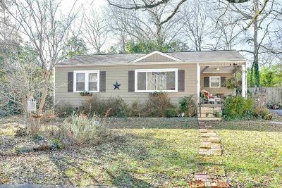 Smyrna Single Family Home For Sale: 1458 Mimosa Cir