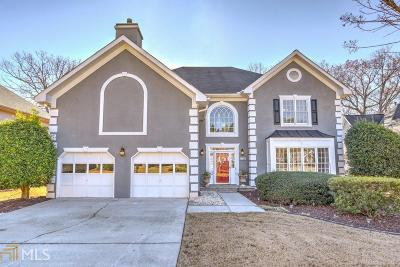 Alpharetta Single Family Home Under Contract: 520 Morning Mist Ct