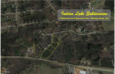 Paulding County Residential Lots & Land For Sale: Indian Lake Dr #1