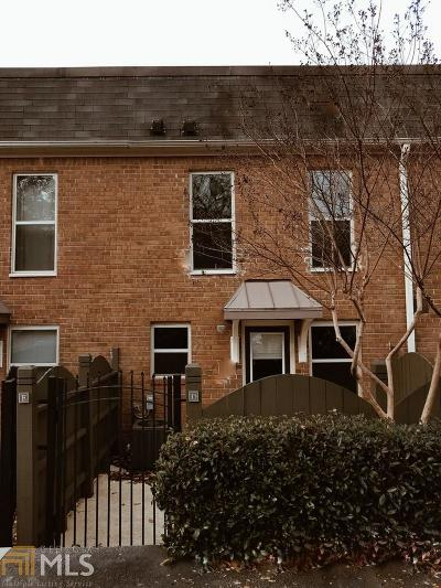 Sandy Springs Condo/Townhouse Under Contract: 225 Winding River Dr #D