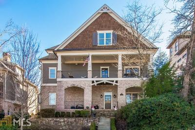 Norcross Single Family Home Under Contract: 261 W Peachtree St