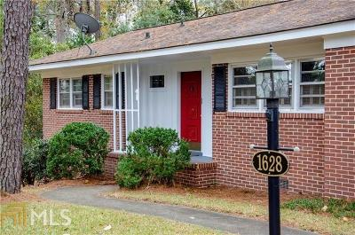 Haddock, Milledgeville, Sparta Single Family Home For Sale: 1628 Pine Valley Rd