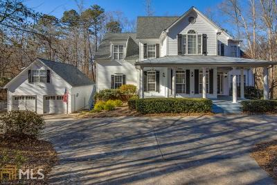 Hoschton Single Family Home For Sale: 241 River Bluff