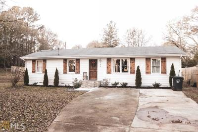 Social Circle Single Family Home Under Contract: 348 Walnut Dr