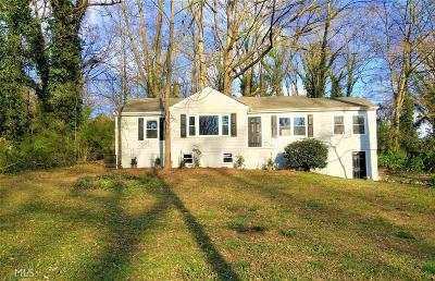 Hapeville Single Family Home Under Contract: 3036 Sylvan Rd