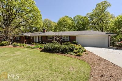 Sandy Springs Single Family Home For Sale: 462 Hilderbrand