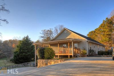 Fannin County, Gilmer County Single Family Home Under Contract: 609 Mulkey Rd
