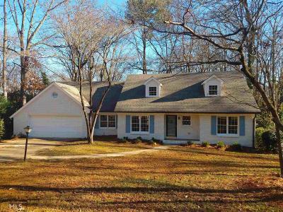 Sandy Springs Single Family Home Back On Market: 795 Spalding Dr
