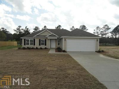 Statesboro Single Family Home For Sale: 154 Stonebrook Way