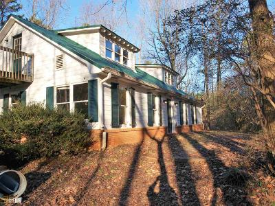 Banks County Single Family Home Under Contract: 1769 Carson Segars Rd