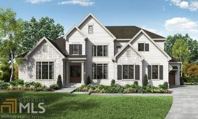 Roswell, Sandy Springs Single Family Home For Sale: 550 Carriage Dr