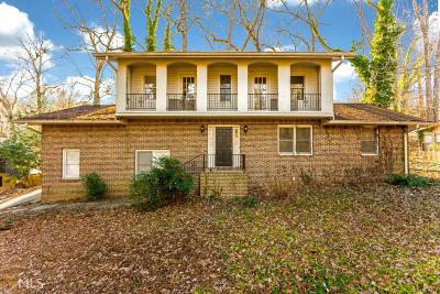 Norcross Single Family Home Under Contract: 5846 Castle Ln