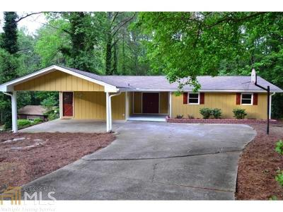 Lilburn Single Family Home Under Contract: 868 Pinecrest Cir #13