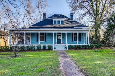 Monticello Single Family Home Under Contract: 969 Forsyth St