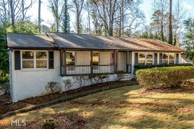 Smyrna Single Family Home For Sale: 1078 Reed Rd