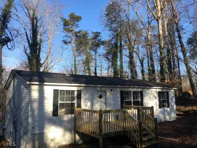 Habersham County Single Family Home For Sale: 1705 Yonah Post Rd