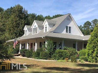 Coweta County Single Family Home Under Contract: 1360 Line Creek Rd #8 Ac