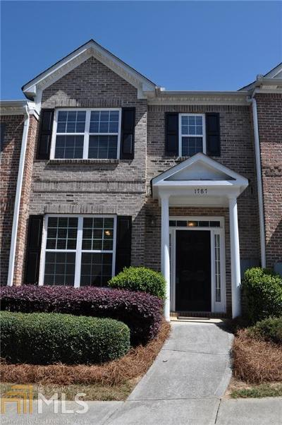 Kennesaw Condo/Townhouse For Sale: 1787 Heights Cir
