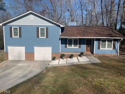 Conyers Single Family Home Under Contract: 1712 Hidden Hollow Ct