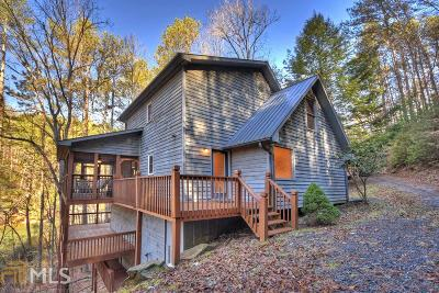 Ellijay Single Family Home Under Contract: 348 Lyric Ln