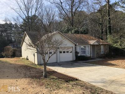 Lilburn Single Family Home Under Contract: 5217 Rosestone Dr #1