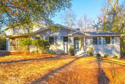 Decatur Single Family Home Under Contract: 2082 Spring Creek Rd