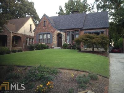 Atlanta Single Family Home For Sale: 1077 Rosewood Dr