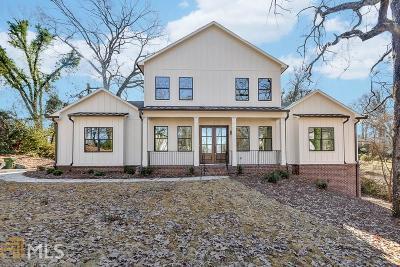 Atlanta Single Family Home For Sale: 1870 Spring Ave