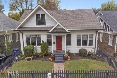 Virginia Highland Single Family Home Under Contract: 1132 St Louis Pl