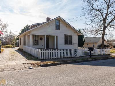 Social Circle Single Family Home Under Contract: 342 Hickory