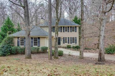 Roswell Single Family Home Under Contract: 1661 Ellenwood Dr