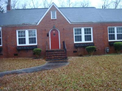 Barnesville Single Family Home Under Contract: 920 Thomaston St