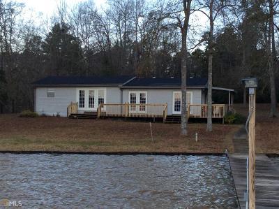 Greensboro, Eatonton Single Family Home Under Contract: 216 Bagley Rd #75