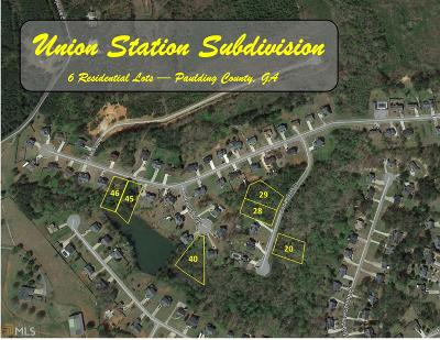 Paulding County Residential Lots & Land For Sale: 147 Cedar Cliff Ct #6 Lots