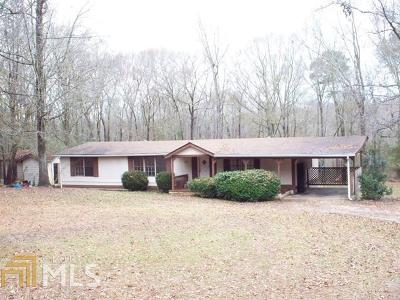 Buckhead, Eatonton, Milledgeville Single Family Home For Sale: 1421 Oconee Springs Rd #Lot 0