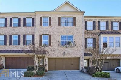 Norcross Condo/Townhouse For Sale: 3382 Willow Oak Dr #9